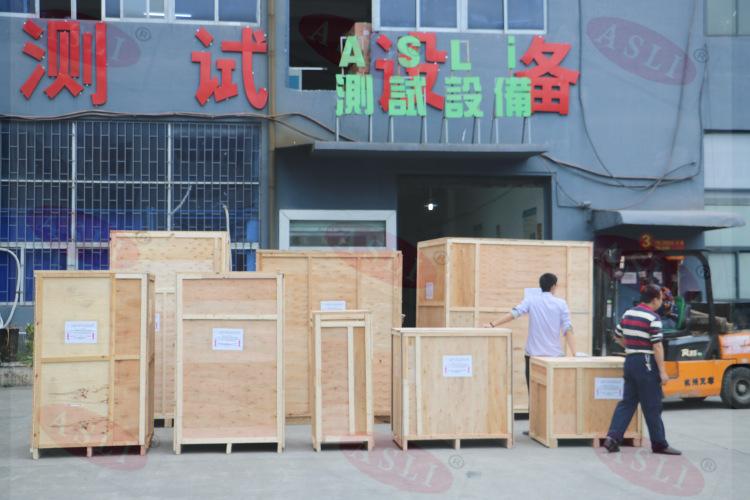 山东客户购买我司高低温老化试验箱一系列设备